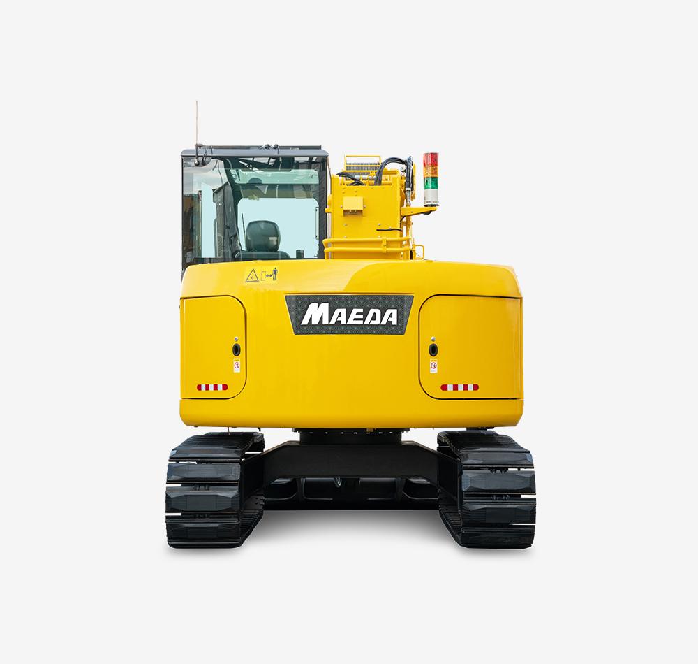 Maeda Mini Cranes : Cc s crawler crane maeda mini cranes