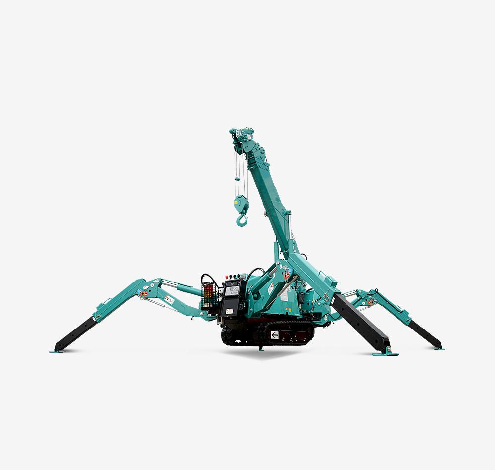 Mc285c 2 Spider Crane Maeda Mini Cranes Shibaura Hydraulic Lift Wiring Diagram Previous