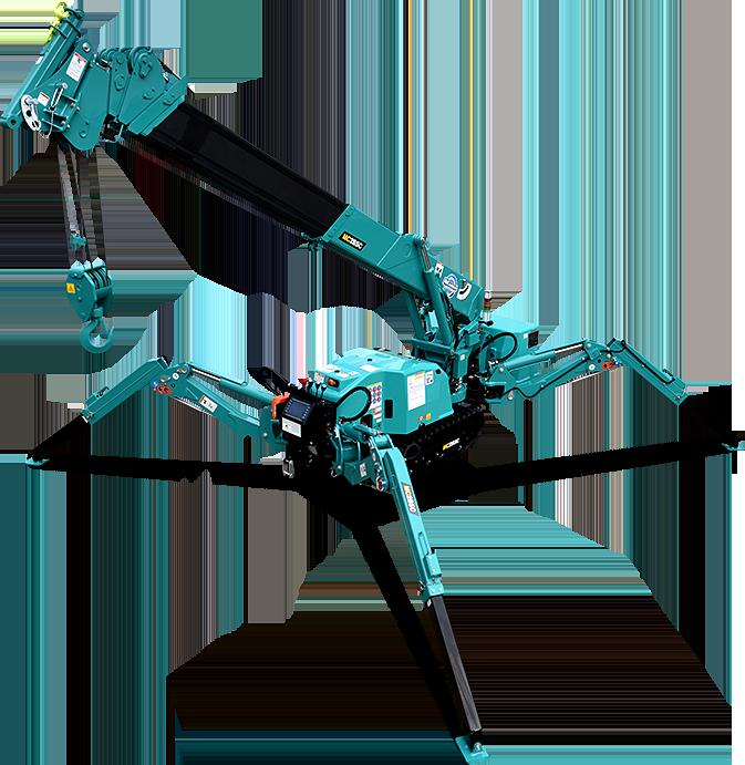 MC285C-3 | SPIDER CRANE | MAEDA MINI CRANES