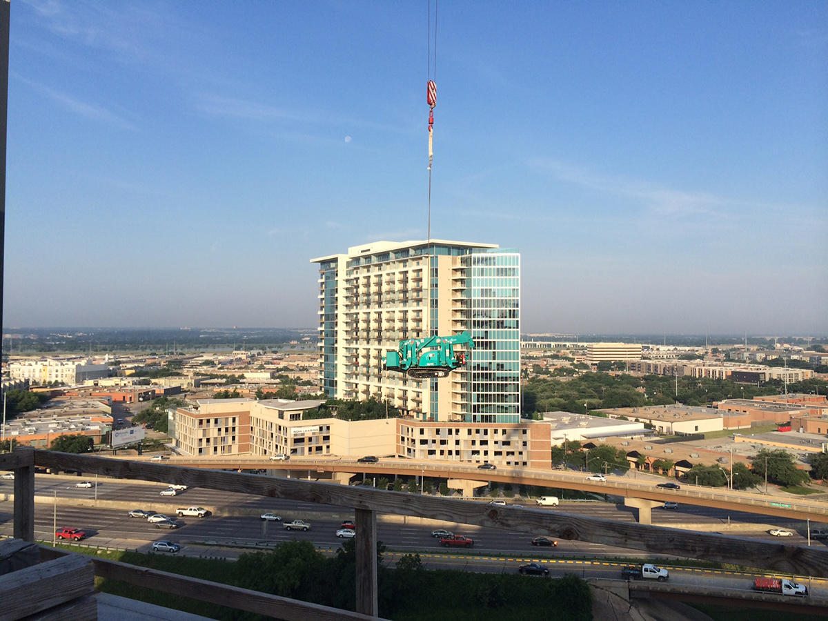 MC285-2 Rooftop Tower Crane US