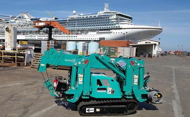 MC285-2 Ship deck US Limited Access Lifting