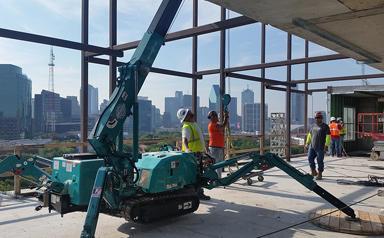 MC285-2 Steel Erection US High Rise Building