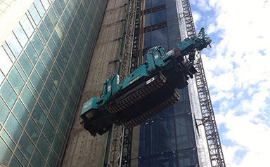 MC285-2 Tower Crane Lift