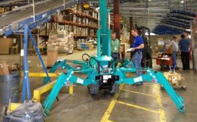 MC285-2 Warehouse Mintenance