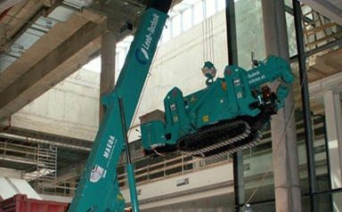 MC405C Machine lift