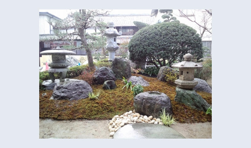 This Peaceful Garden With Well Laid Out Stones And Plants Was Made With  MC205CW.